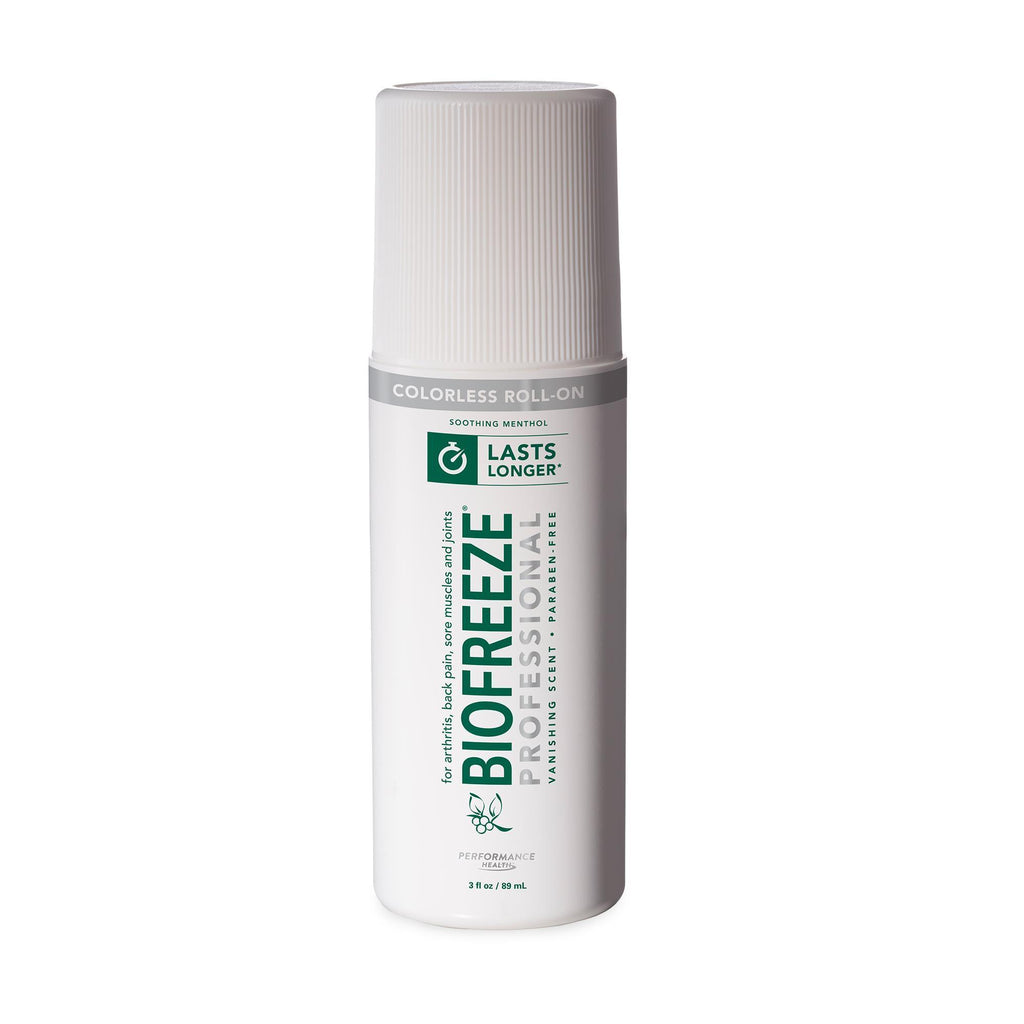 Pain Management Colorless Biofreeze Professional Roll-On