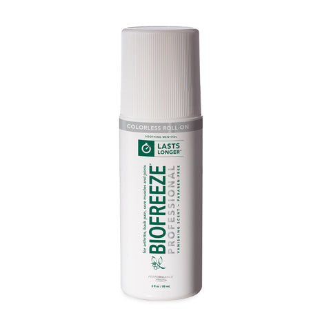 Image of Pain Management Colorless Biofreeze Professional Roll-On