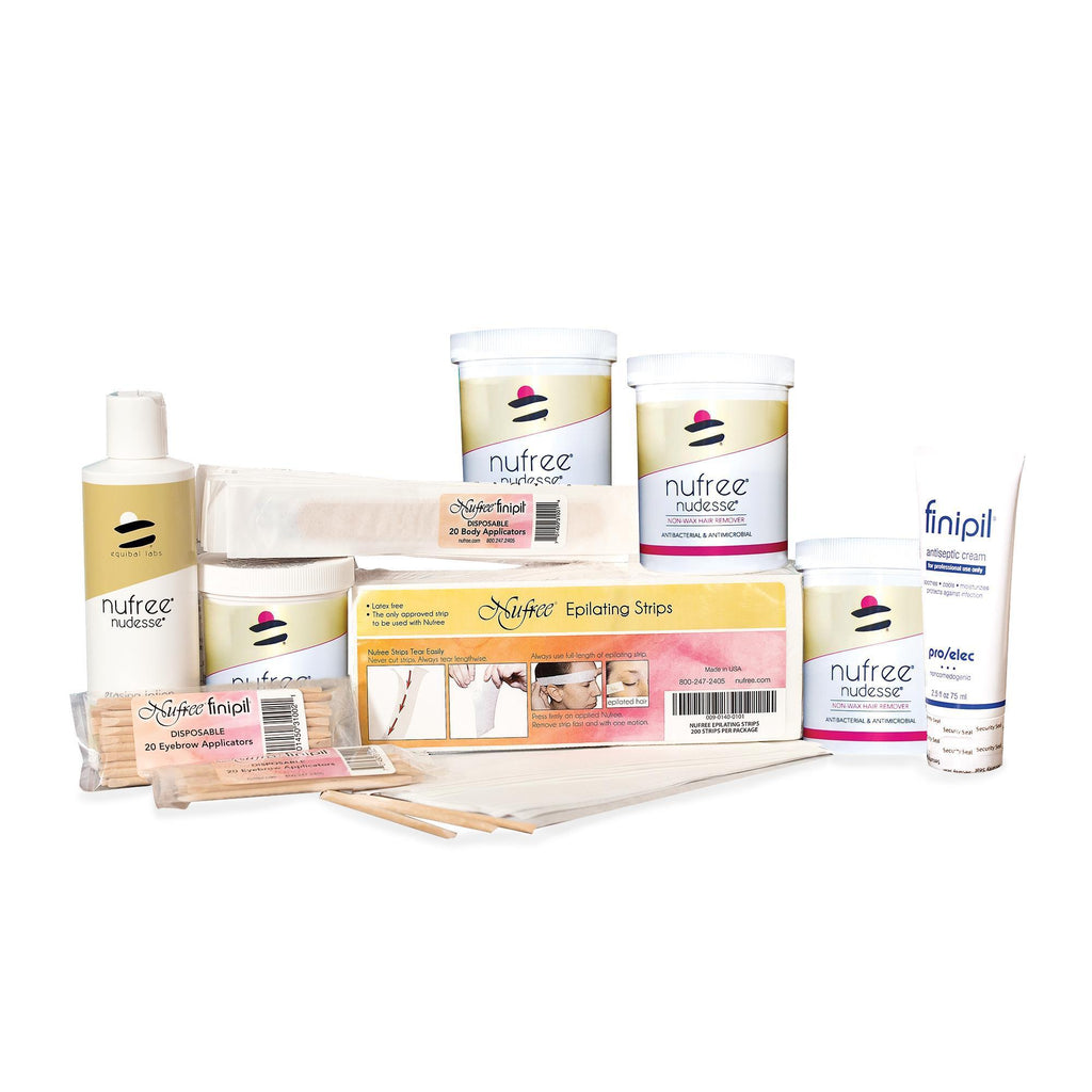 Pellon, Strip & Soft Wax Nufree Mini Refill Kit / 8oz