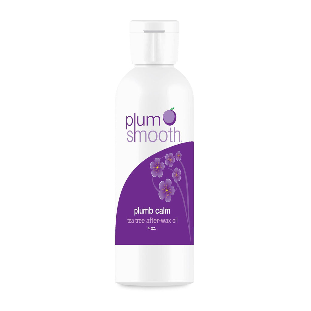 Post-Hair Removal Lotions, Gel 4 oz. Plum Smooth Plumb Calm