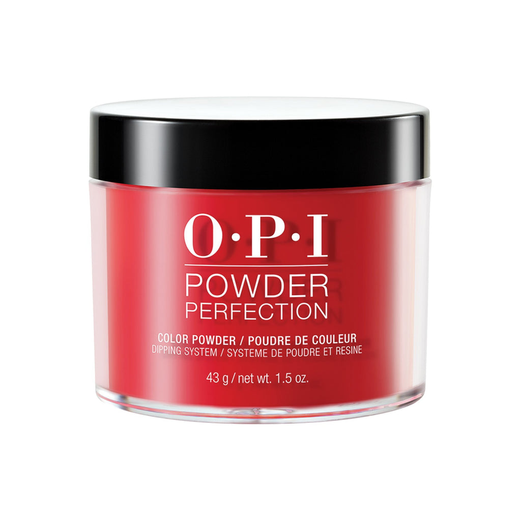 Powder Polish / Dip Polish OPI Powder Perfection Color So Hot It Berns