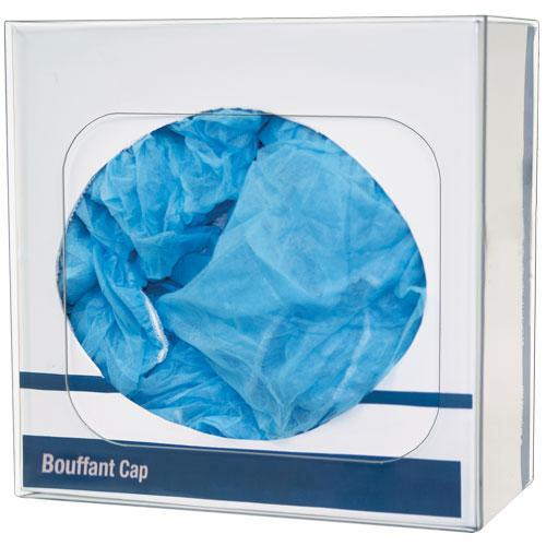 Bouffant Cap or Shoe Cover Dispenser, Clear