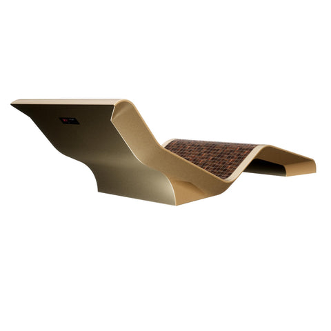 Image of Diva Basico Infrared Heated Lounger, Ceramico