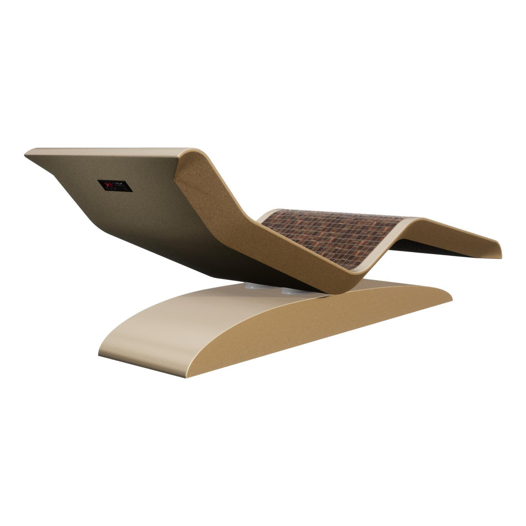 Fabio Alemanno Design DIVA Moderno Infrared Heated Lounger, Ceramico