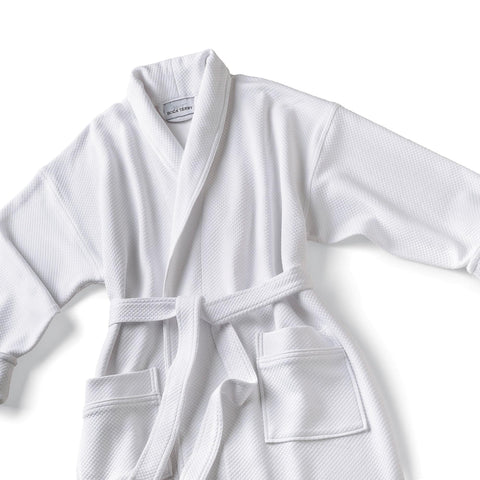 Image of Robes & Wrapes Boca Terry Robe / Knit Waffle Shawl Collar