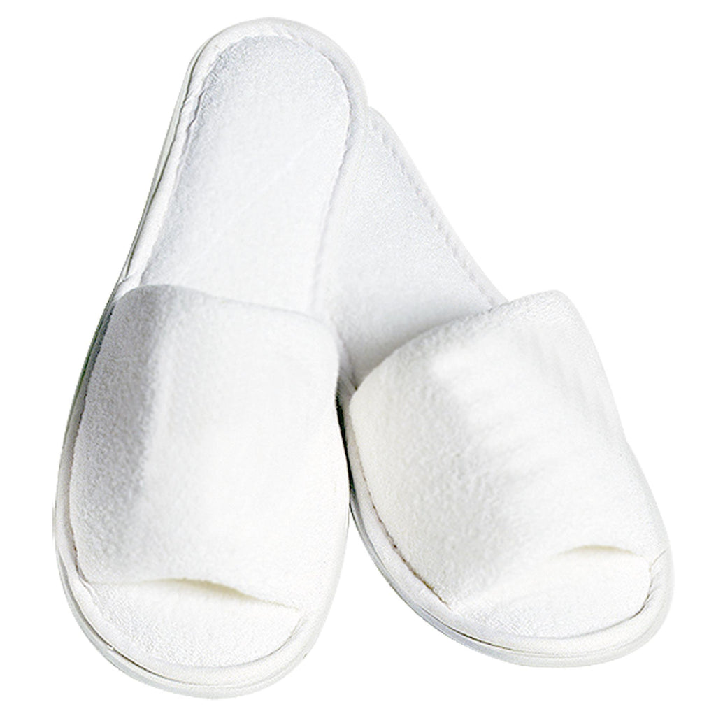 Sandals & Slippers Boca Terry Spa Slippers / Ladies' / White
