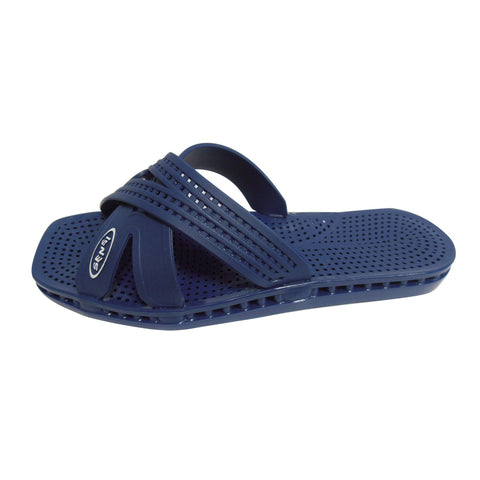 Image of Sandals & Slippers Size 10 / Navy Sensi Sandals, Messico City