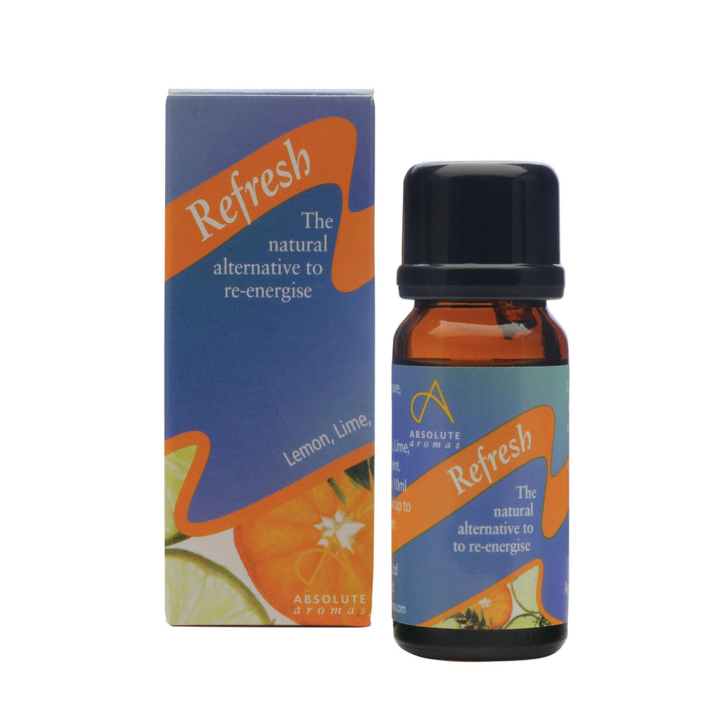 Single Notes 10 ml Absolute Aromas Refresh Aromatherapy Blend 10ml