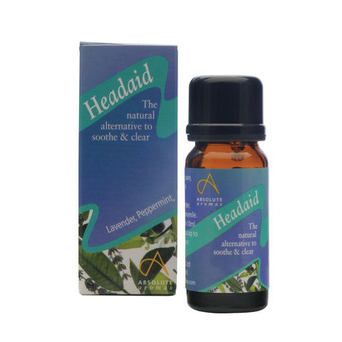 Single Notes 10 ml Absolute Aromas Headaid Aromatherapy Blend 10ml