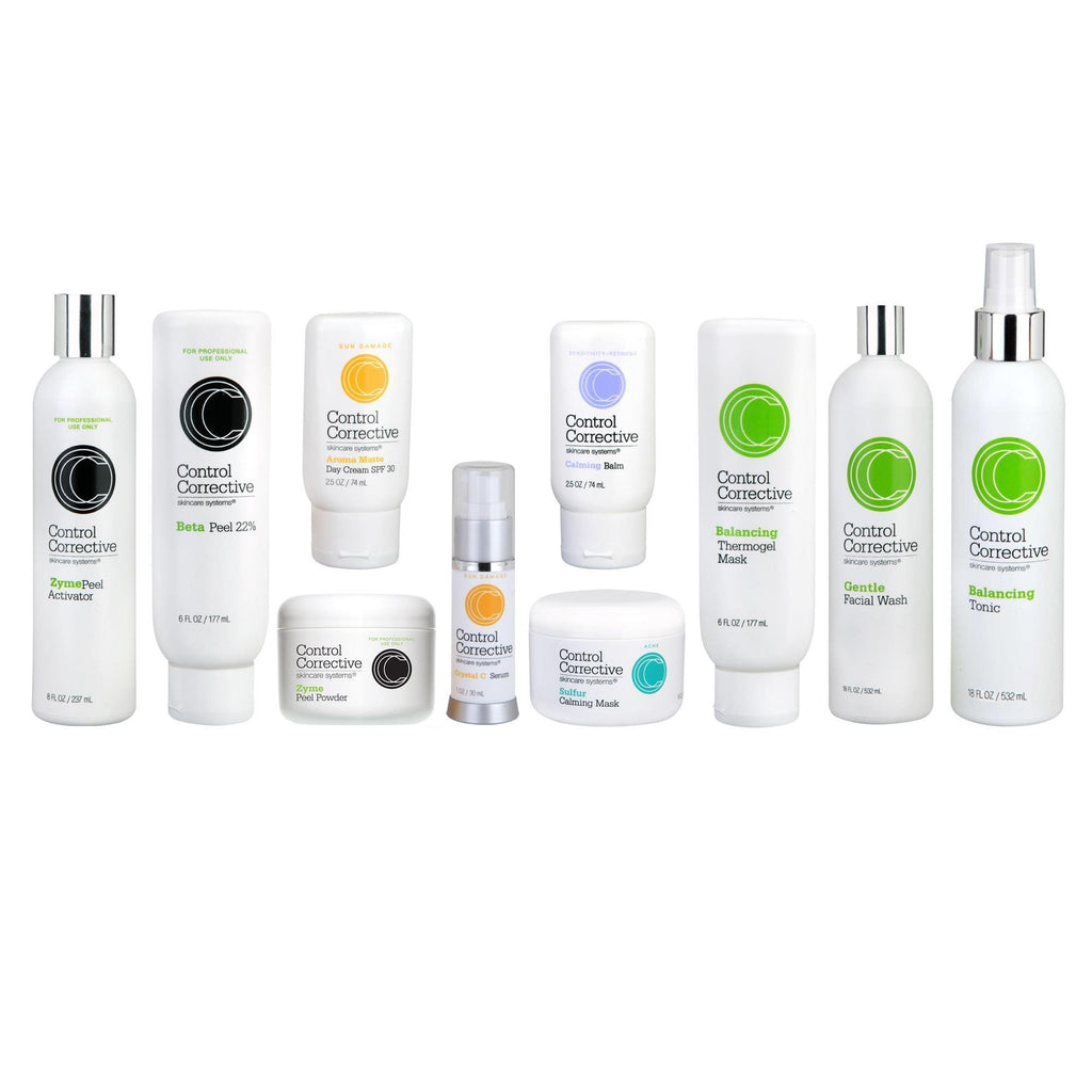 Skin Care Starter & Trial Kits Control Corrective Success Kit / Beta Facial