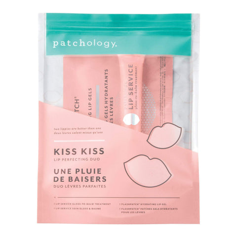 Image of Skin Care Starter & Trial Kits Patchology Kiss Kiss Lip Perfecting Duo Kit