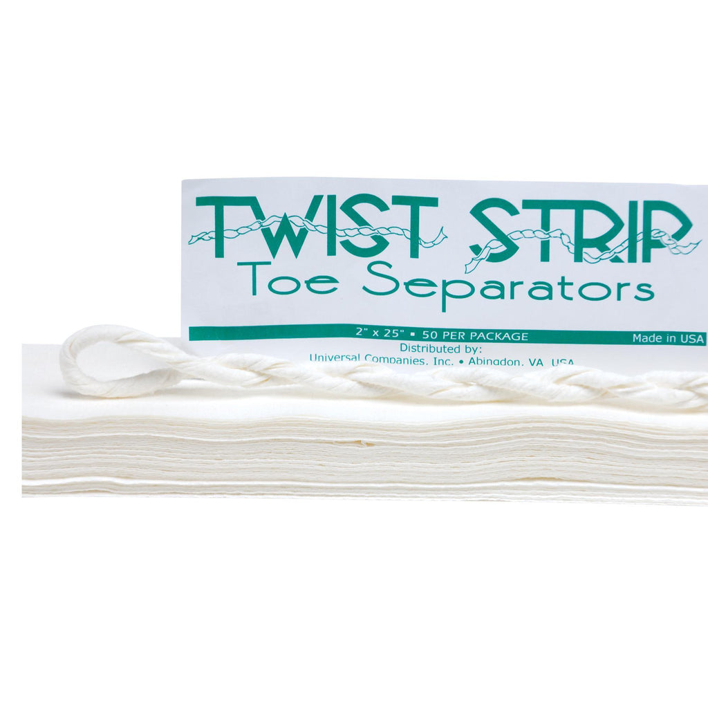 Slippers & Toe Separators Twist Strip Toe Separators / 50pc