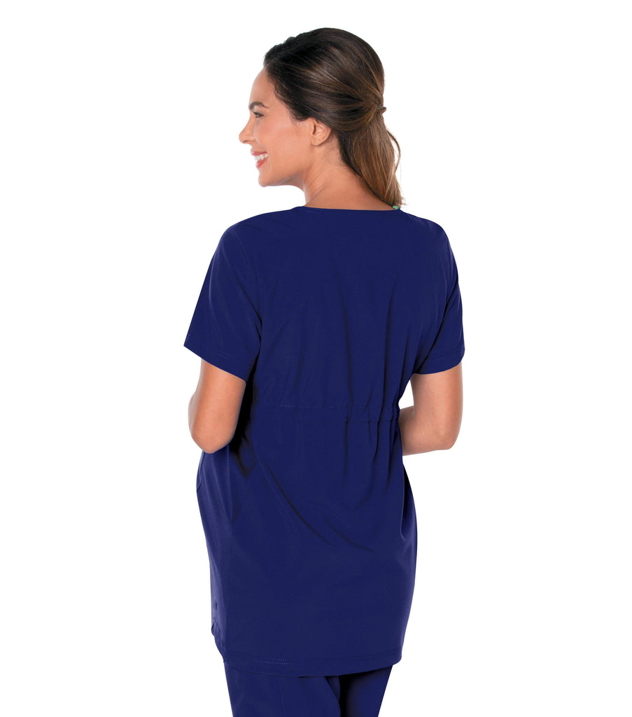 Women's Maternity Crossover V-Neck Tunic Top by Landau