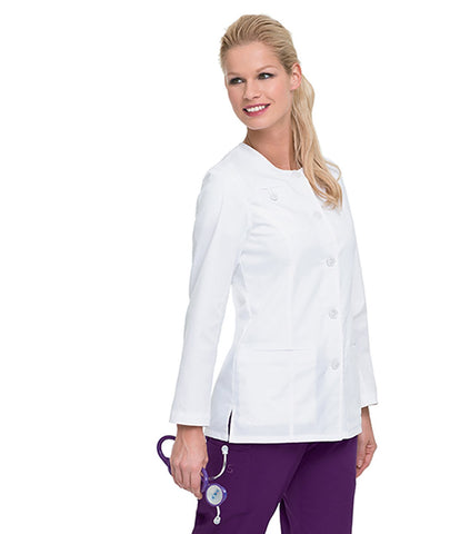 Image of Women's Smart Stretch Jacket in White by Landau