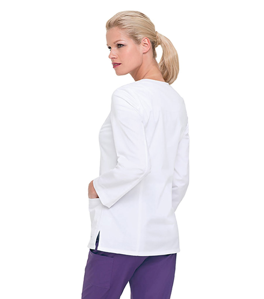 Women's Smart Stretch Jacket in White by Landau