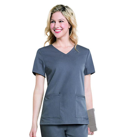 "Image of Women's ""Chelsea"" V-Neck Tunic Top, XXL to 5XL, by Urbane"