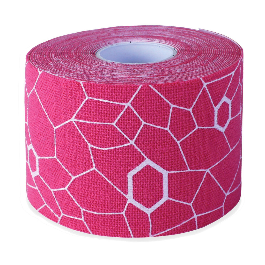 Specialty Massage Tools Pink & White Theraband Kinesiology Tape
