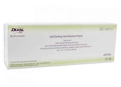 "Sterilization Pouches 3.5"" x 10"", 200 count"