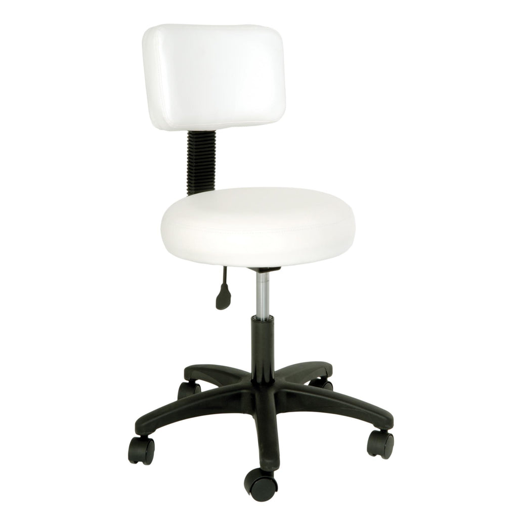 Stools & Step Stools Silhouet-Tone Stool with Backrest / Rounded