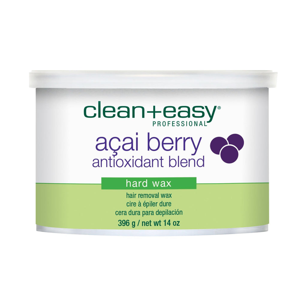 Clean + Easy Acai Berry Antioxidant Blend Hard Wax