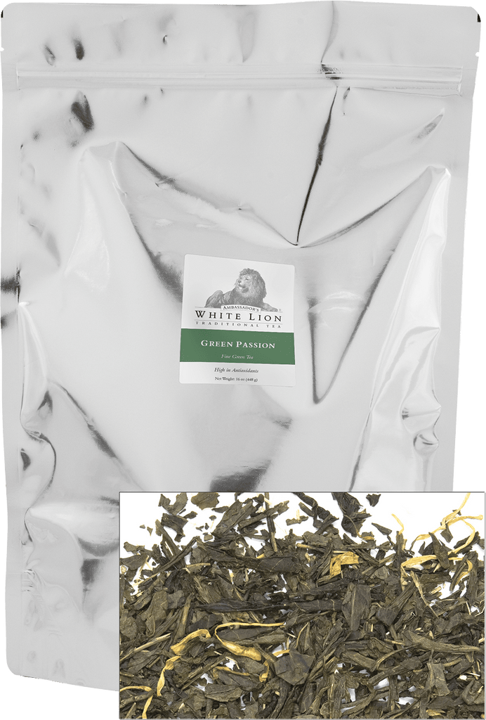 White Lion Tea, Green Passion
