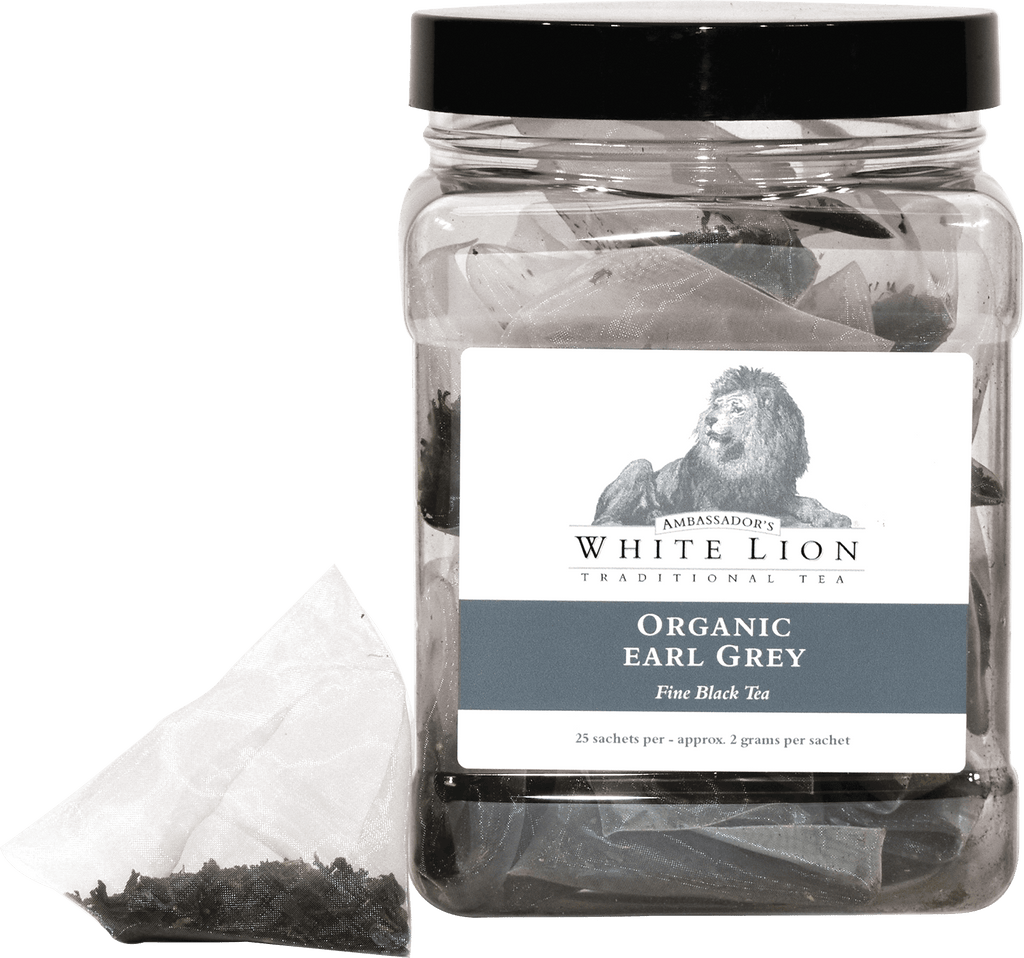 White Lion Tea, Organic Earl Grey Canister
