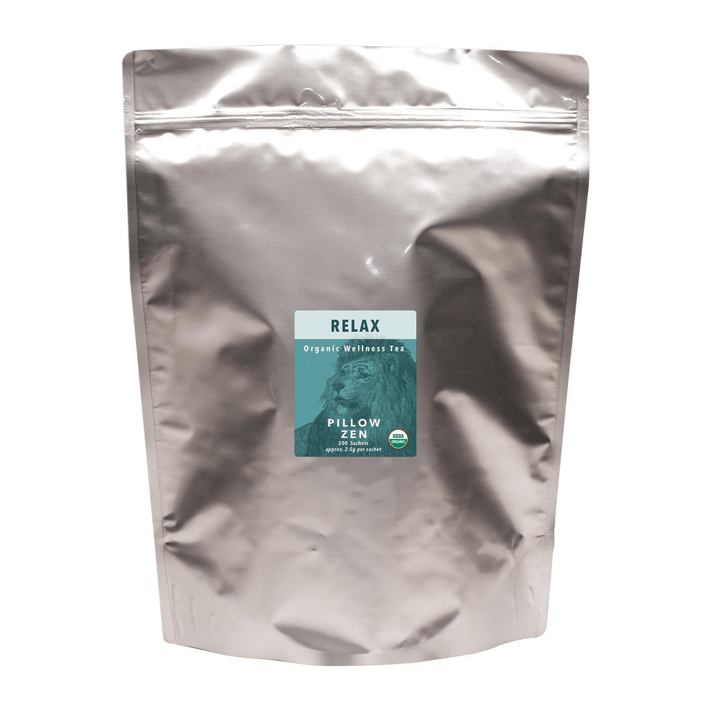 Tea & Snacks 200 ct. White Lion Relax (Pillow Zen) Tea