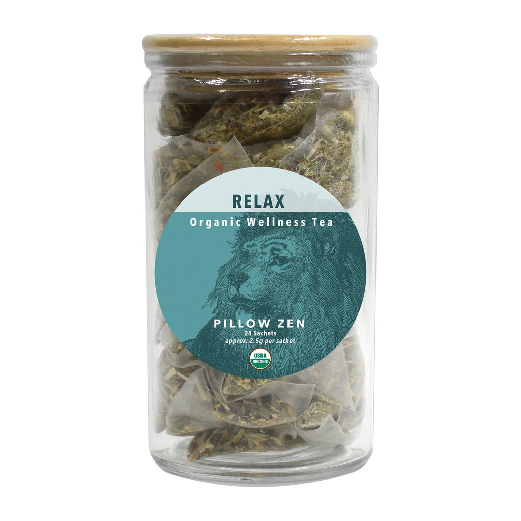 Tea & Snacks 24 ct. White Lion Relax (Pillow Zen) Tea