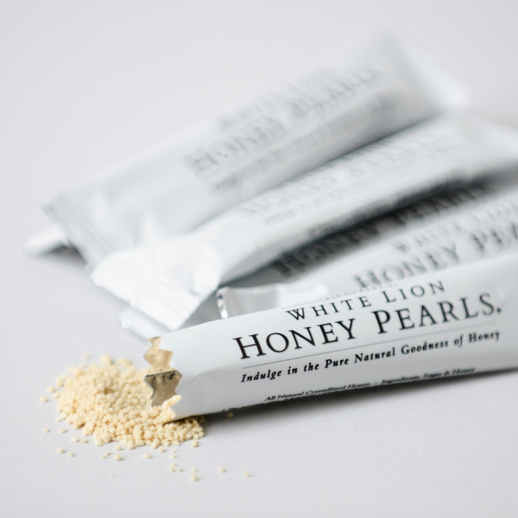 Tea & Snacks Honey Pearls Sticks 500 Count White Lion Honey Pearls