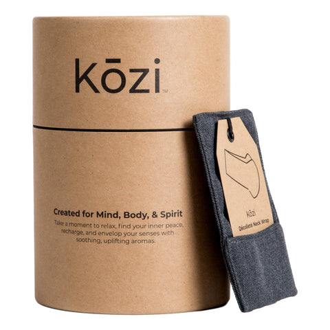 Image of Kozi Décolleté Neck Wrap, Kohl