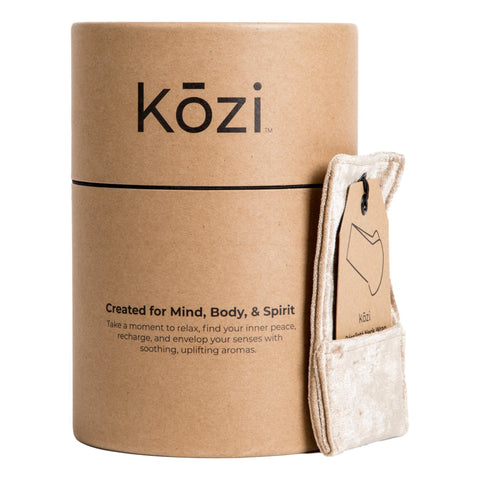 Image of Kozi Décolleté Neck Wrap, Jute