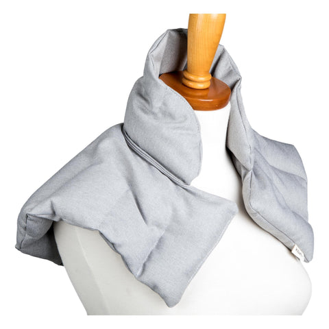 Image of Kozi Comforting Shoulder Wrap, Grey Heather