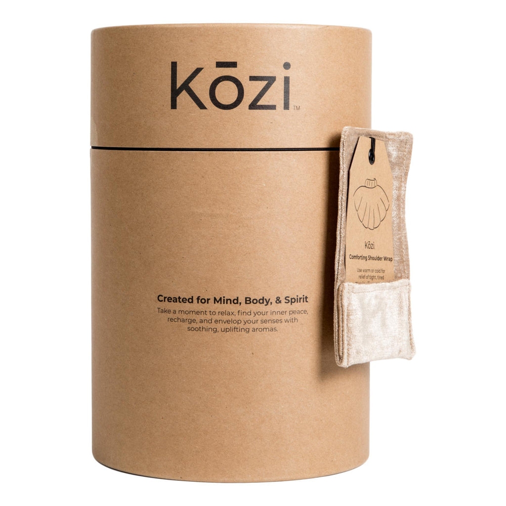 Kozi Comforting Shoulder Wrap, Jute