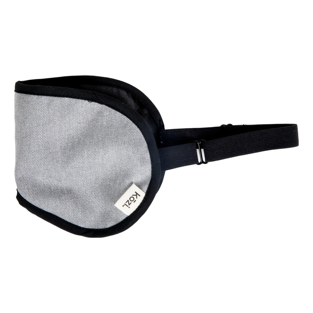 Kozi Restoring Eye Mask, Grey Heather