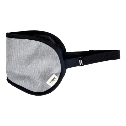 Image of Kozi Restoring Eye Mask, Grey Heather