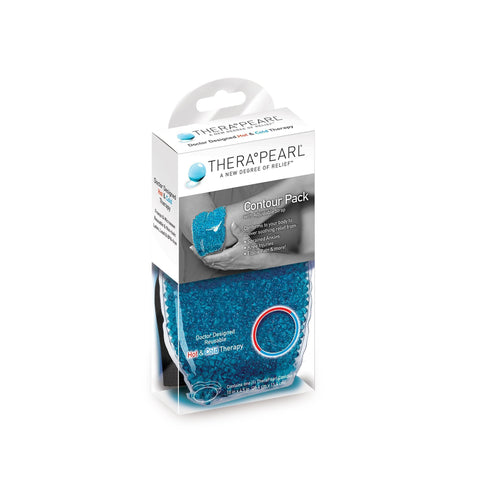 Image of Therapy Wraps & Packs TheraPearl Contour Pack / Oval with Straps