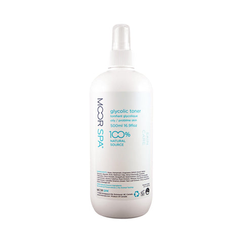 Image of Toners, Waters & Sprays 16.9 floz Moor Spa Glycolic Toner