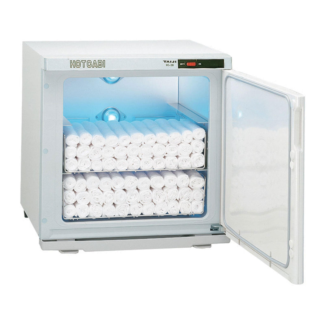 Towel Cabis & Warming Units Taiji Large Cabi with UV / White / 110V