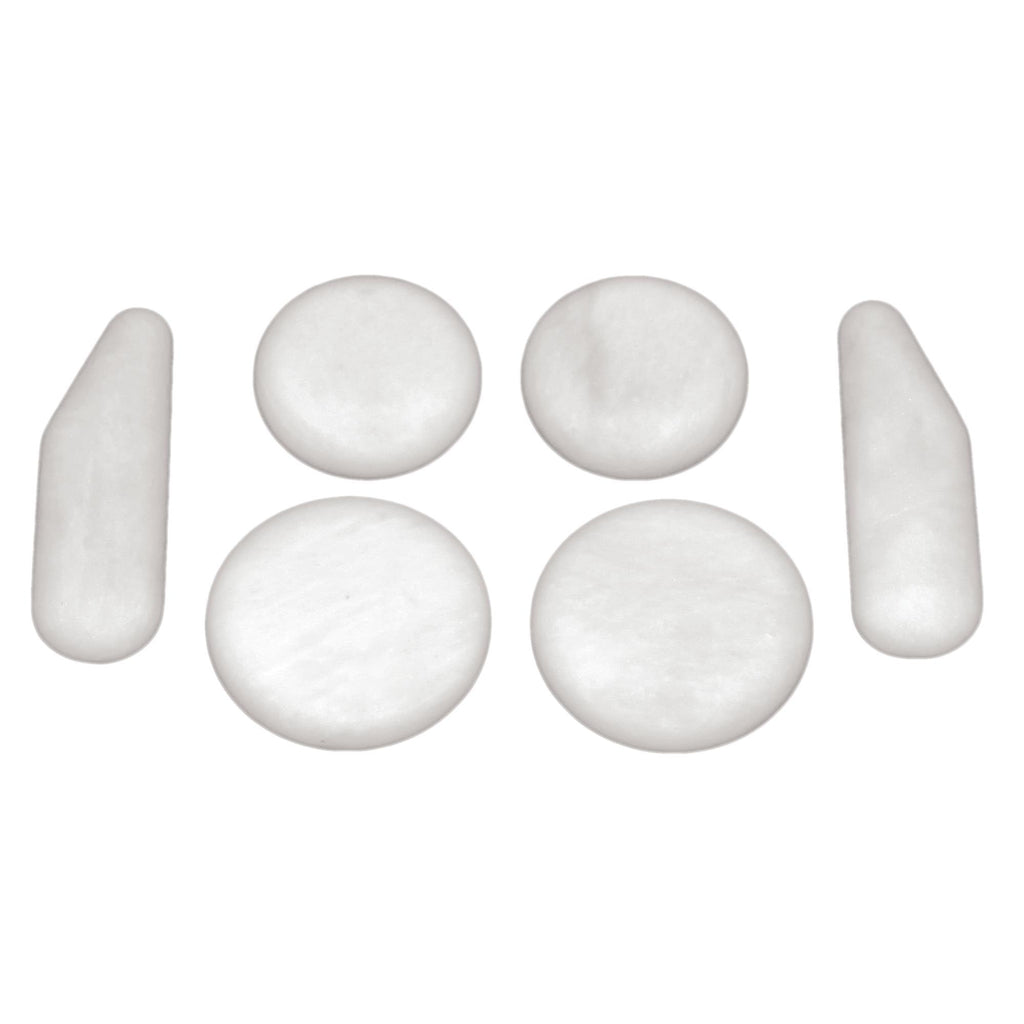 Treatment Stones Theratools Marble Basic Body Set / 6pc