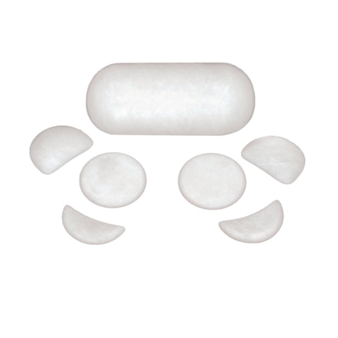 Image of Treatment Stones & Salt Stones Theratools Marble Facial Starter Set / 7pc