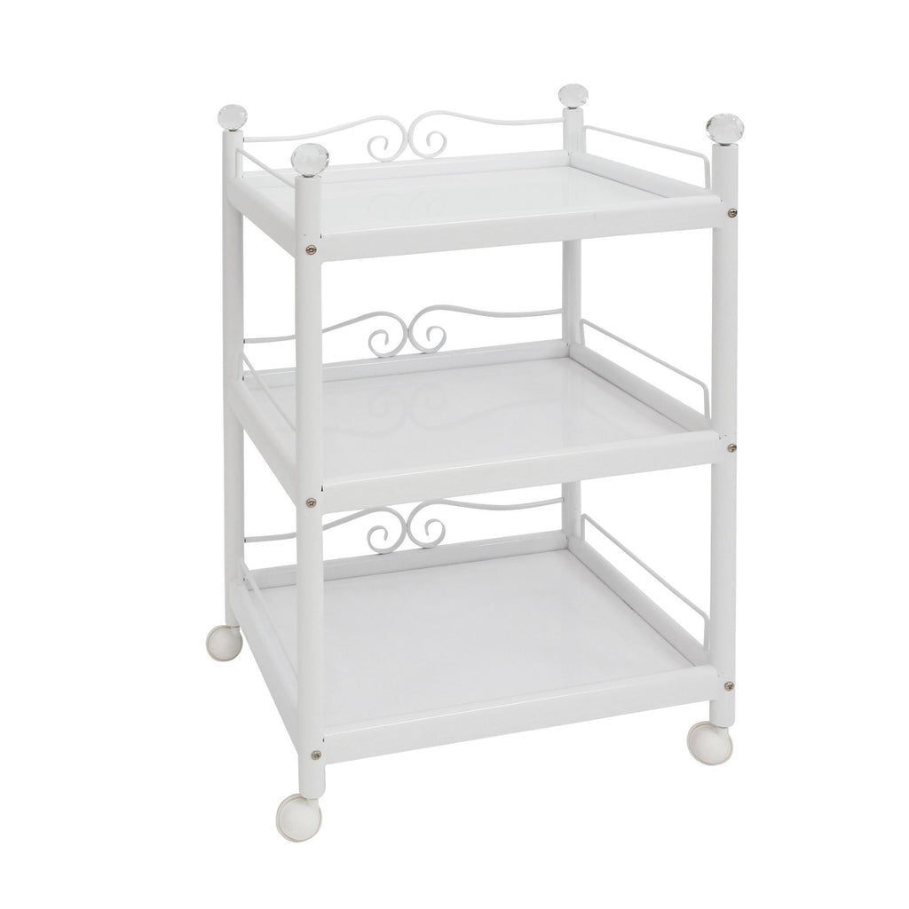 Trolleys & Carts Elegant Esthetician Trolley White
