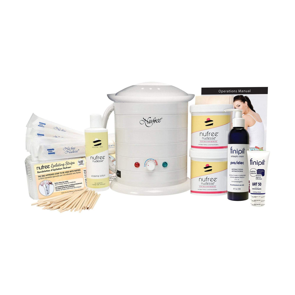 Waxing Starter & Trial Kits Nufree Pro Servicenter