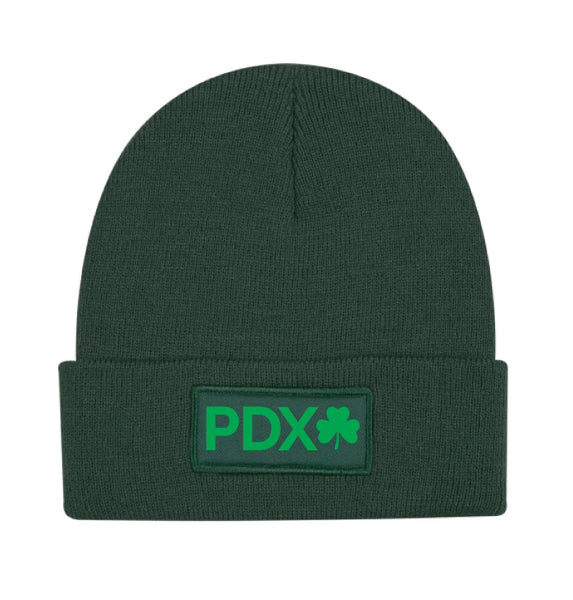 Shamrock Run PDX Beanie