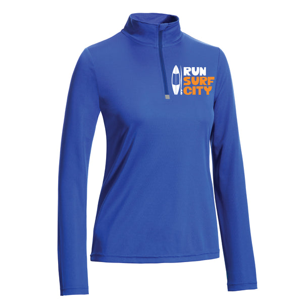 Surf City Marathon 2020 Women's 1/4 Zip