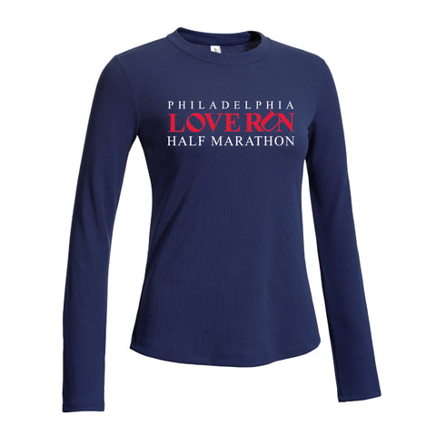 Women's Performance Tee: Philadelphia Love Run