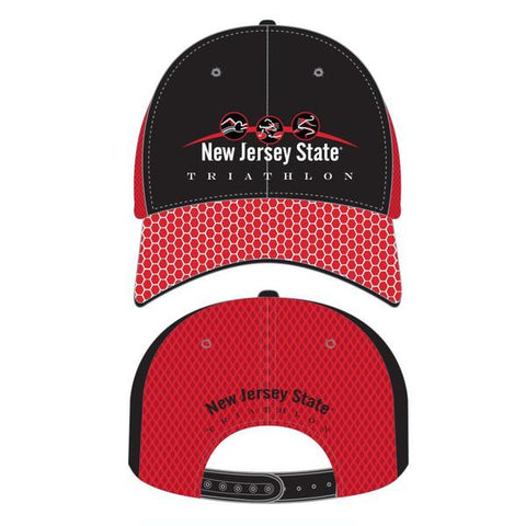 New Jersey State Triathlon Headsweats Tech Trucker Hat