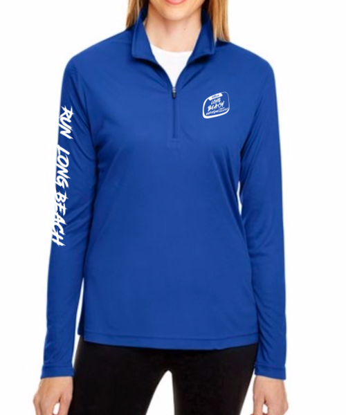 Long Beach Marathon 2019 Women's 1/4 Zip