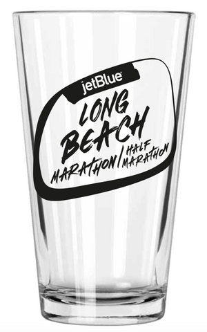 Long Beach 2019 Pint Glass: Black