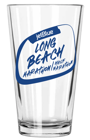 Long Beach 2019 Pint Glass: Blue