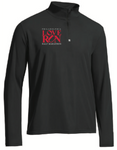 Men's Black 1/4 Zip: Philadelphia Love Run